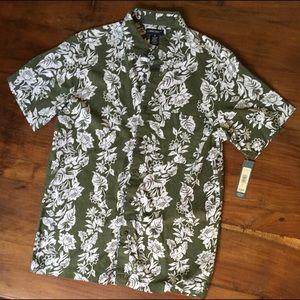 Cotton Hawaiian Shirt Sz S
